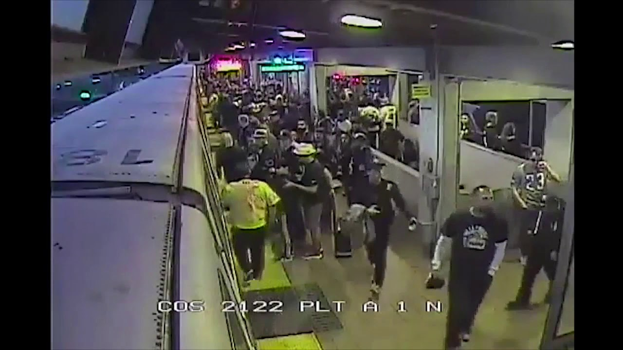 BART worker saves man from train