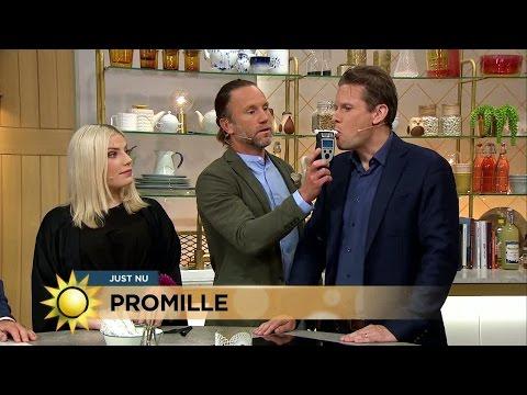 S hr gick promilletestet - Nyhetsmorgon (TV4)