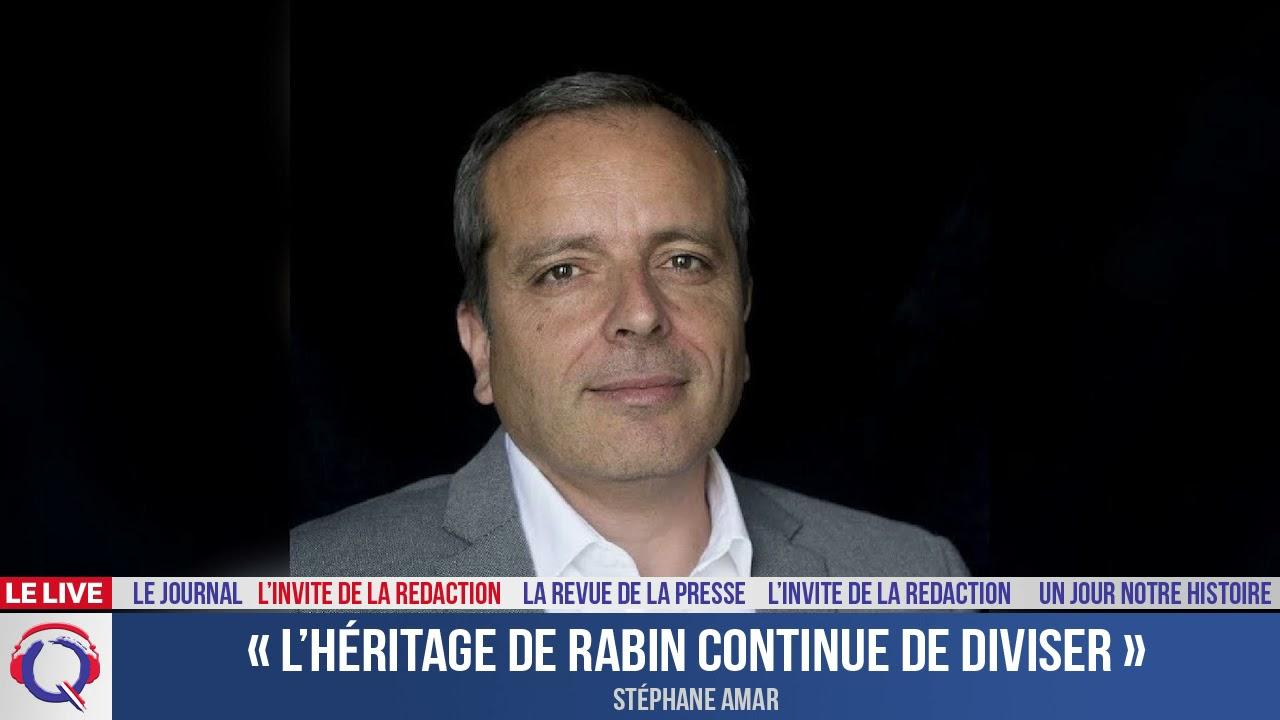 « L'héritage de Rabin continue de diviser » - L'invité du 21 octobre 2021