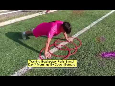 Training Goalkeeper Paris Samui Day 7 Morning