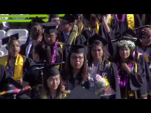 2017 CSULB Commencement - Health & Human Services, Ceremony 3: Undergrad