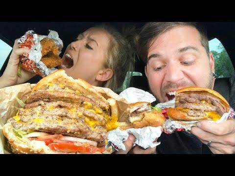 TRYING FAST FOOD SECRET MENUS! (what did we just eat?!)
