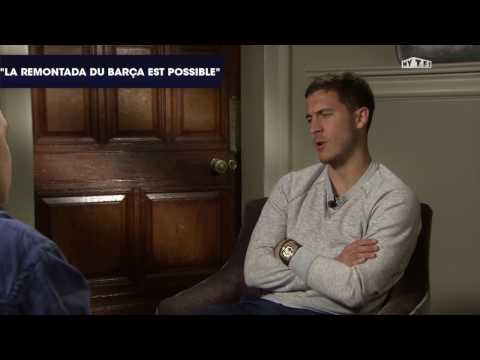 L'interview d'Eden Hazard : la Ligue des Champions