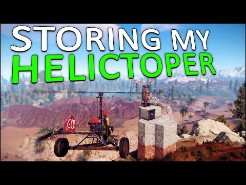 EXPANDING my BASE for my NEW MINICOPTER! - Rust Solo #7 thumbnail