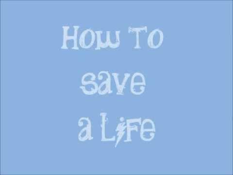 How to Save a Life - The Fray Lyrics