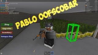 PABLO OOFSCOBAR-tornando-se PABLO ESCOBAR em ROBLOX-simulador de cultivo de planta de dank