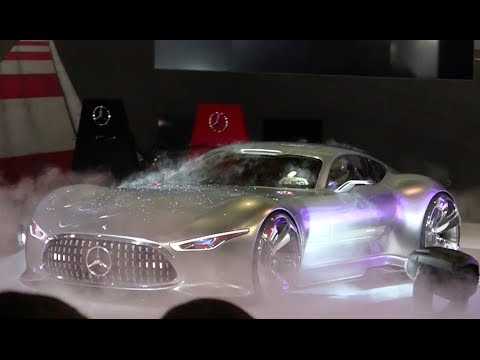 Watch the Mercedes-Benz AMG Vision GT Concept Debut at the LA Auto Show