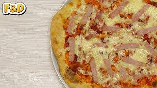 Пицца. Как приготовить пиццу дома. Пошаговый рецепт.
