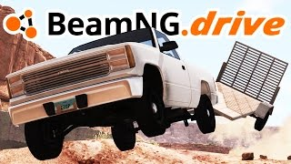 BeamNG.drive Gameplay - A Rocky Start Campaign! - Let