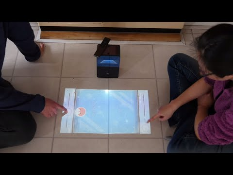 PuppyCube Turns Any Surface Into an Interactive Touch Screen