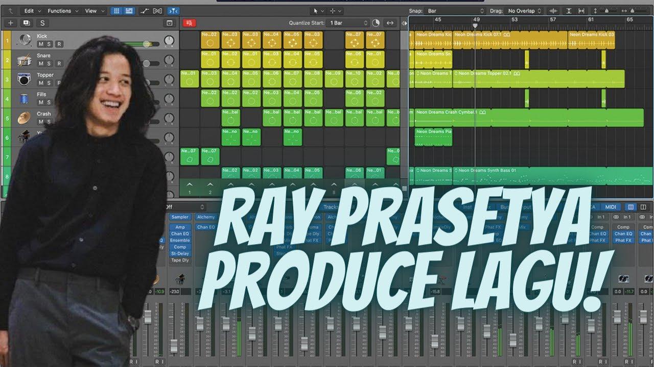 Inilah Proses Saat Drummer Ray Prasetya Produce Lagu di Studionya!