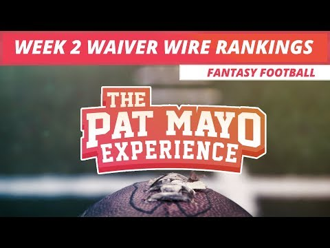 2017 Fantasy Football: Week 2 Waiver Wire Pickups and Rankings