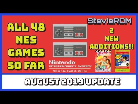 Nintendo Switch Online Nes Games List / August 2019