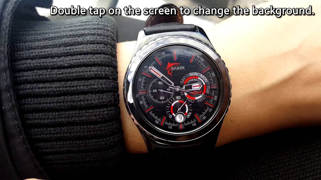 how to make samsung gear watch faces