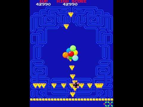 Arcade Game: Phozon (1983 Namco)