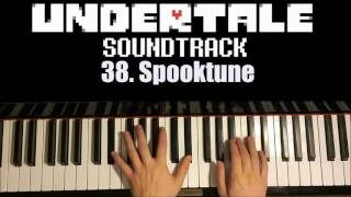 Undertale OST - 38. Spooktune (Piano Cover by Amosdoll)