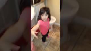 Poop on toilet seat Part#1