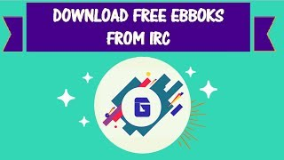 Gambar cover Download ebooks for free using IRC