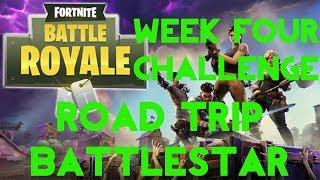 Fortnite Battle Royale | Season 5 Week 4 Challenge | Road Trip Secret Battle Star Location Guide
