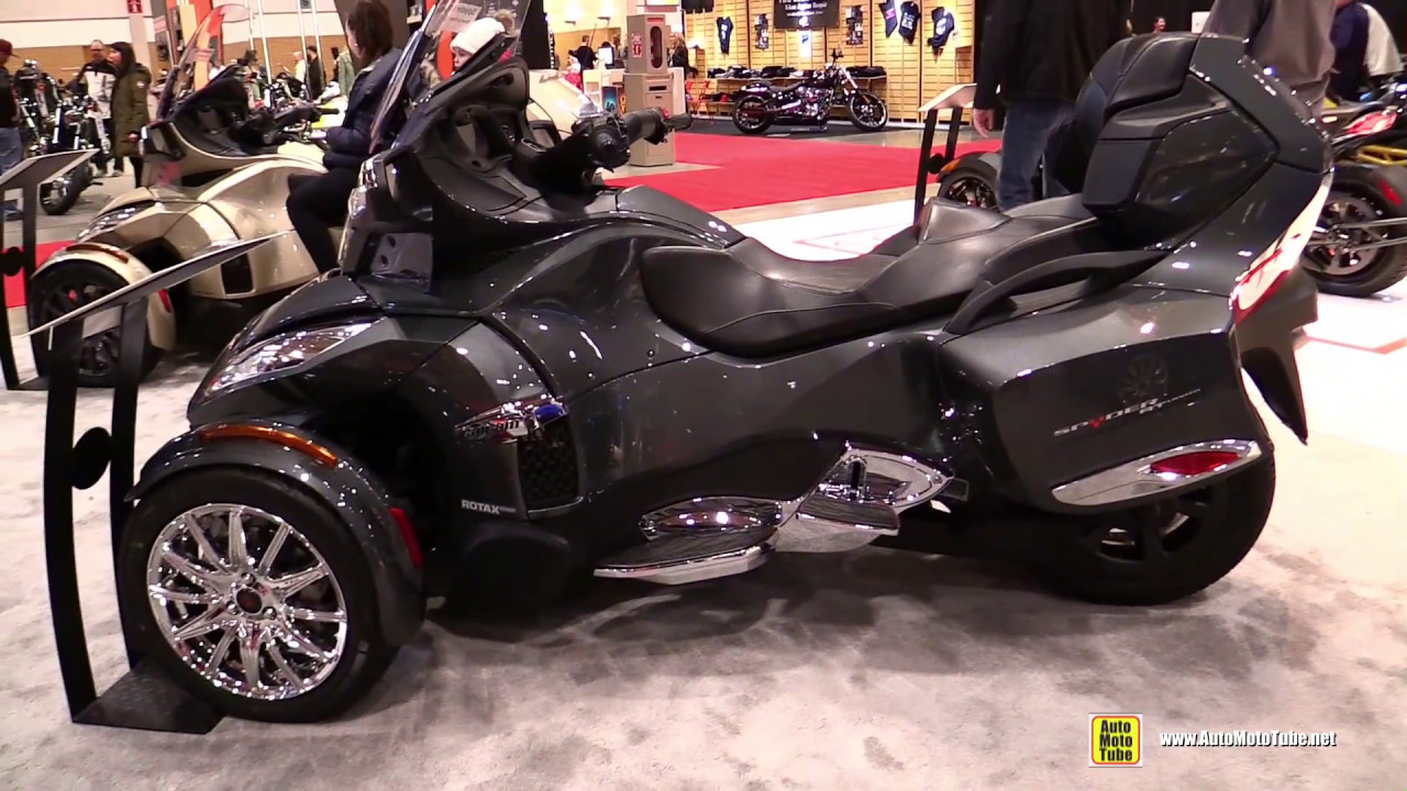2017 Can Am Spyder Rt Limited Walkaround Toronto Motorcycle Show