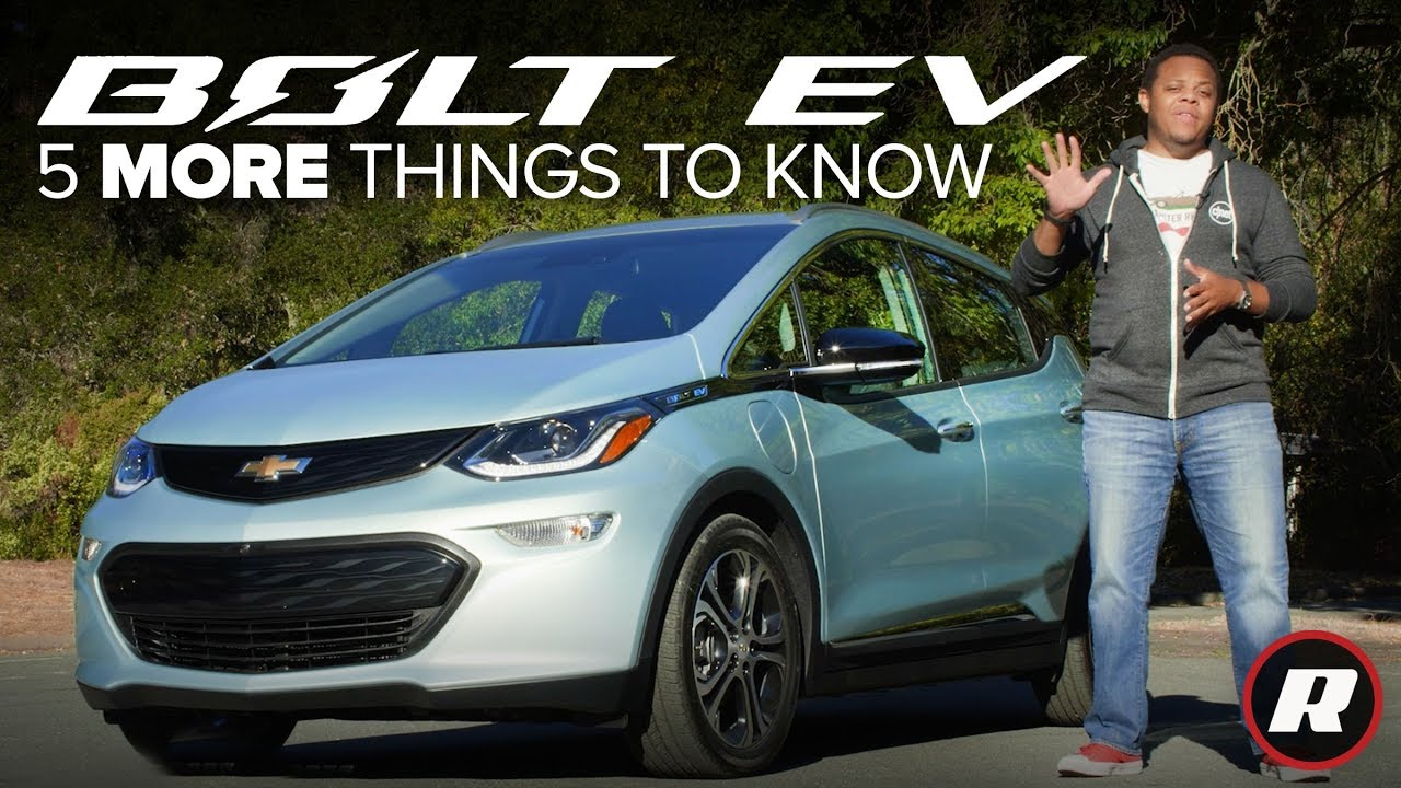 2019 Chevrolet Bolt: 5 More Things to Know