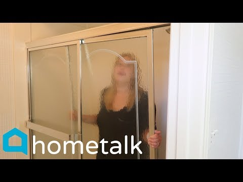 People will be removing their shower doors after watching this! | Hometalk