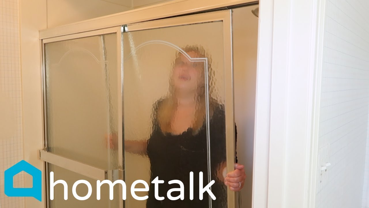 people will be removing their shower doors after watching this hometalk