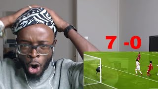 Liverpool Vs Spartak Moscow 7-0 - UEFA Champions League Reaction