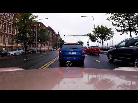 Mercedes W210 - Helsinki drive