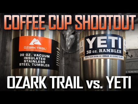 Review of Yeti Tumbler vs Ozark Trail: Which is of Better Value?
