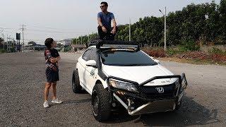 Honda city ในตำนาน รถเก๋งสายลุย Rally cross คันแรกในประเทศไทย : รถซิ่งไทยแลนด์