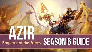 League of Legends Azir Guide | Season 6 | Patch 6.6