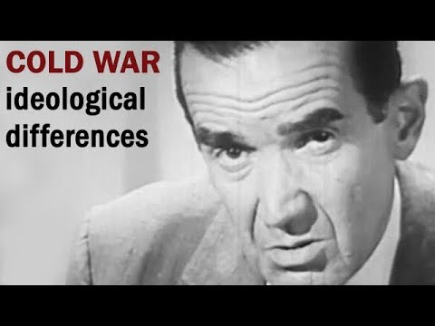 Ideological Differences Between America and the Soviet Union | Cold War Era Propaganda Film | 1961