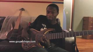 Gospel Bass Lesson @ GospelChops.com featuring Justin Raines  - Bass Solo