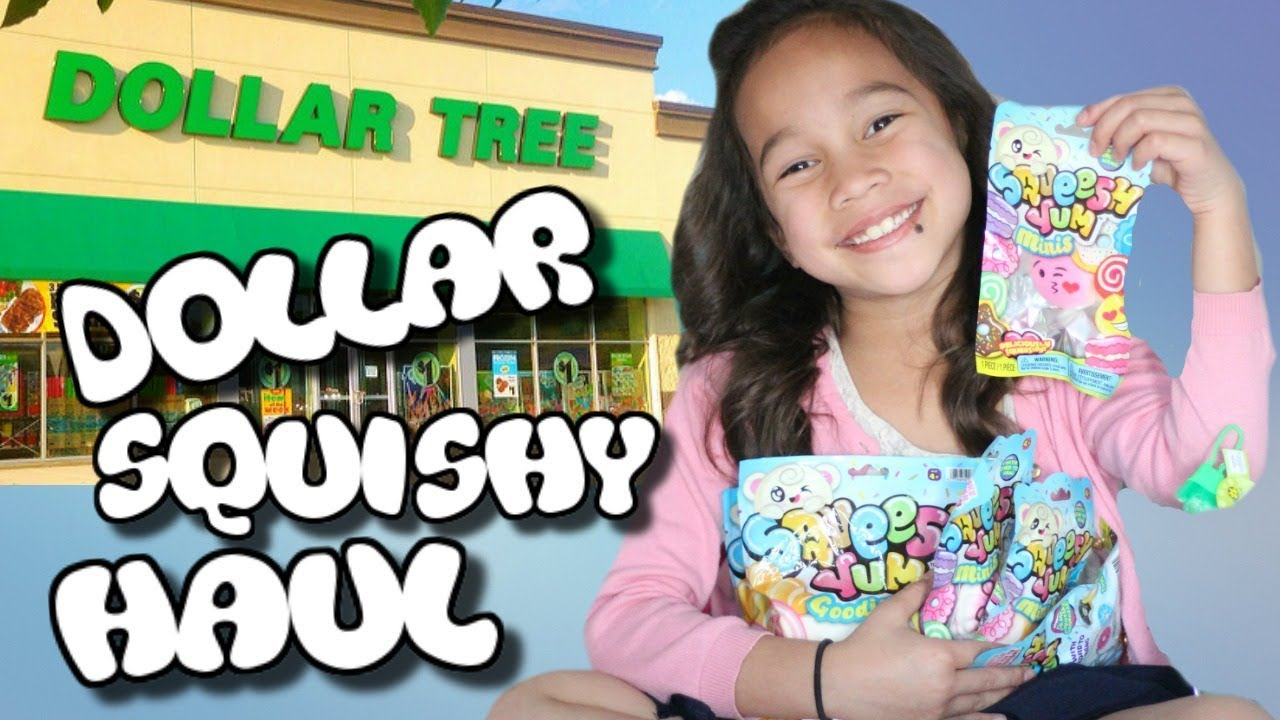 SQUISHIES AT DOLLAR TREE Worlds Smallest Squishy Tiny Toy Haul Collection Kids Toys