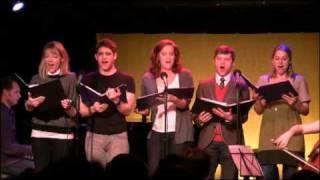 Bobby Steggert, Julie Reiber, Victoria Matlock, Jeremy Jordan & Maria Couch sing TRAFFIC ISLAND SONG