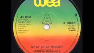 Modern romance    Ay ay ay ay Moosey 1981 djcésar