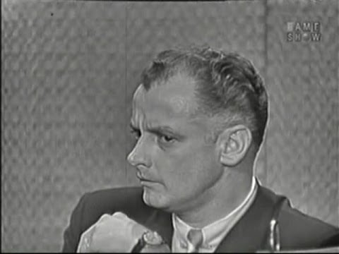 What's My Line? - Art Carney; Martin Gabel [panel]; Joan Collins [panel] (Dec 6, 1959)