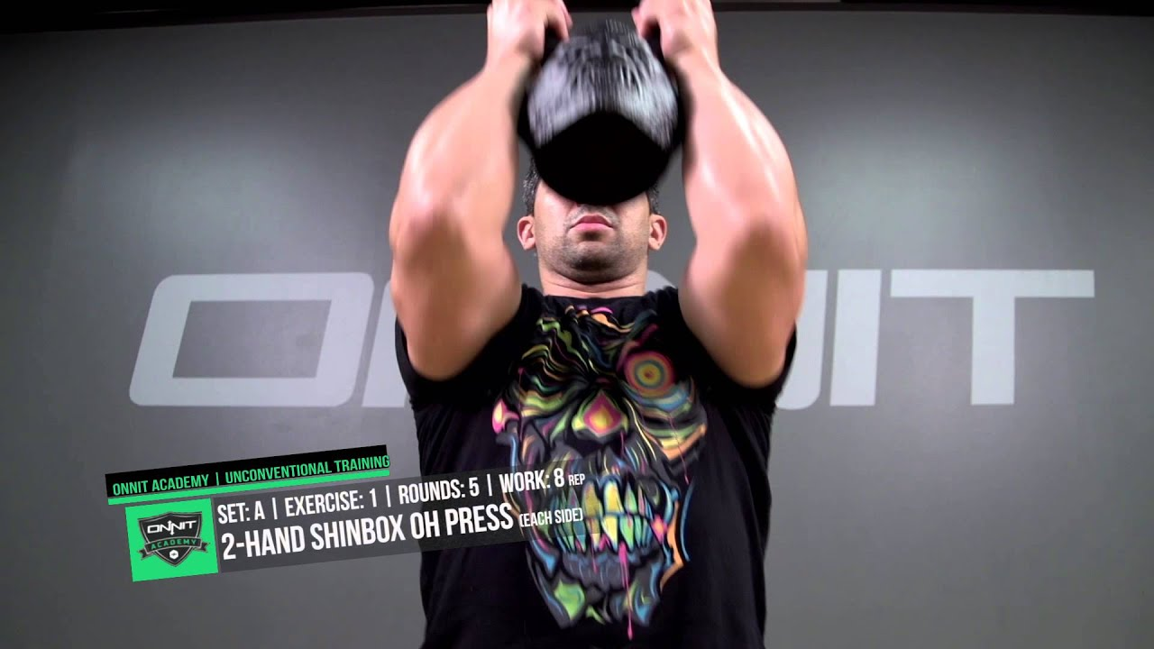 Kettlebell Core Power Workout Created by Onnit