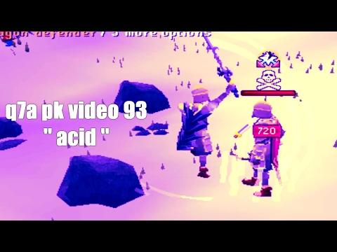 [SoulSplit 3] Q7a pk video 93 ''Acid'' Kitchen knife / Pure pking