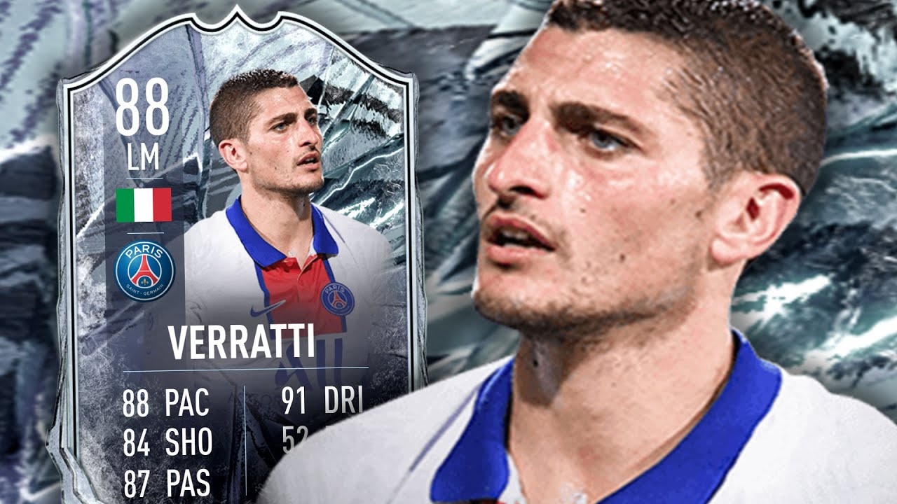 FIFA 21 FREEZE VERRATTI 88 PLAYER REVIEW - YouTube