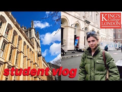 Student Day In The Life // King's College London