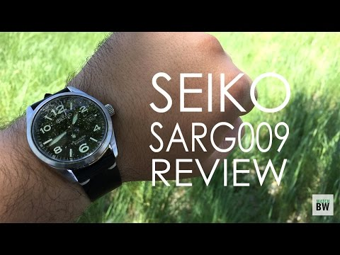 Seiko SARG009 Review - A Field Style Classic