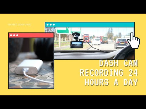 How To Use A PowerBank To Keep Dash Cam Recording 24 Hours A Day (Cheap Alternative To Parked Mode)