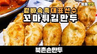 (eng) 목동맛집 꼬마튀김만두 북촌손만두 Korean…