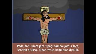 Video PASKAH - Yesus Bangkit dan Hidup (Indonesia) - film animasi alkitab anak sekolah minggu download MP3, 3GP, MP4, WEBM, AVI, FLV Mei 2018