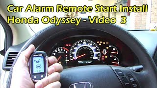 How To Install Car Remote Start - Bypass Module (Video 3)