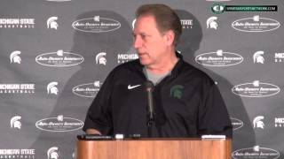 Tom Izzo Press Conference: Preview Rutgers