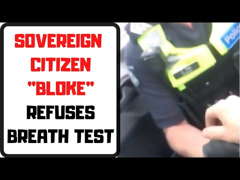 """australian-sovereign-citizen-refuses-""""corporate""""-breath-test:-instantly-arrested!"""