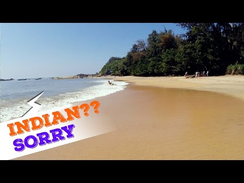 A beach in India does not rent rooms to Indians????